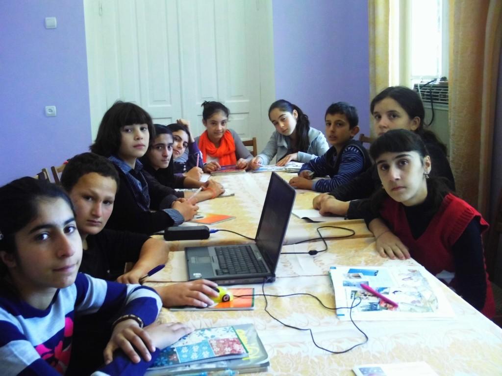 Gruppenfoto des Deutschkurses