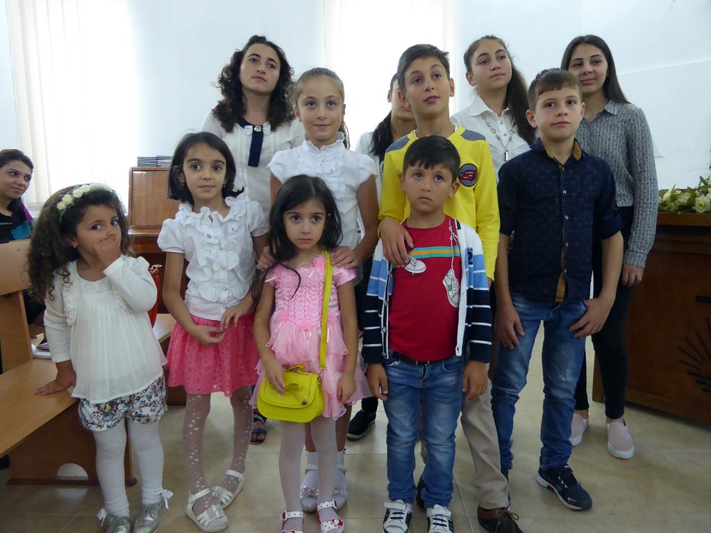 Kindergartenkinder aus Vanazdor